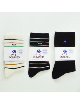Pack de 3 paires de chaussettes: Simone, Sidonie & Sacha Noire